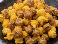 キャラメルとチーズ味のポップコーン