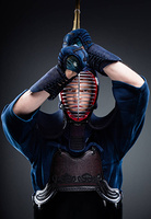 Kendo fighter with bokuto