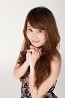 Young Asian girl praying