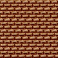 Seamless surface chocolate. Delicious brown background