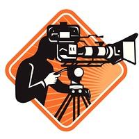 Film Crew Cameraman Shooting Filming Camera