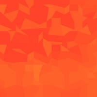 Fire Red Abstract Low Polygon Background