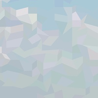 Blue Haze Abstract Low Polygon Background
