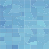 Blue Mosaic Abstract Low Polygon Background