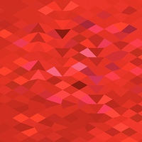 Imperial Red Abstract Low Polygon Background