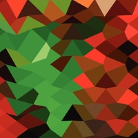 Bice Green Abstract Low Polygon Background