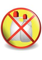 No detergents