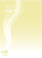 The sign of cafe