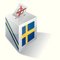 Wahlbox Schweden
