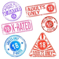 Adults Only Rubber Stamps