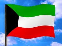 Fahne Kuweit