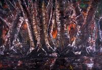 Abstrakte Formen (Dunkler Wald)