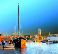 Hafen Wismar Stadtansicht