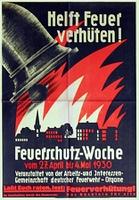 Feuerschutz Woche 1930