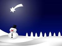 Weihnachtslandschaft 1