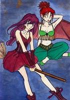 Hexe und Damon