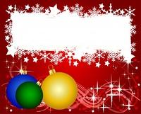 Bunte Weihnachtskarte mit Platz fur ihren Text