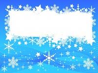 Hellblauer Weihnachtshintergrund