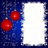 Weihnachtskarte mit Platz fur ihren Text