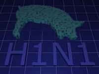 H1N1 - Virus - Schweinegrippe