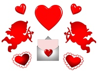 liebes symbole - valentinstag