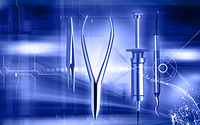 Illustration of a surgical instruments