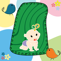 Illustration with baby