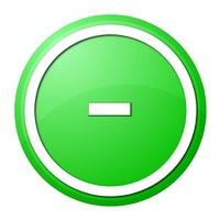 Green  Button Minus