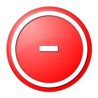 Red  Button Minus