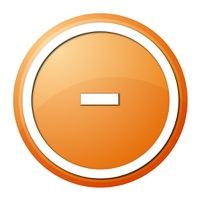 Orange Button Minus