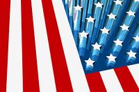 3D Flag of America