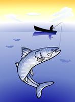 Groser Fisch