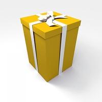 Big yellow present