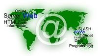 Hintergrund - Weltkarte - Online