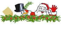 Gruse vom Weihnachtsmann