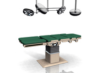the surgical table