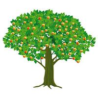 groser Apfelbaum