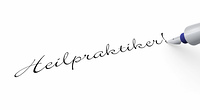 Stift Konzept - Heilpraktiker!