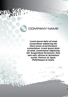 Stationery graphic template