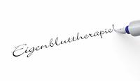 Stift Konzept - Eigenbluttherapie!