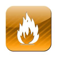 Feuer Button