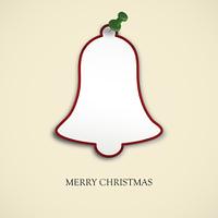 Weihnachtsglocke mit Pin