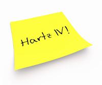 Notizzettel - Hartz IV!