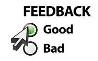 Good selected on a feedback question
