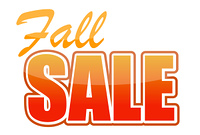 fall sale illustration design