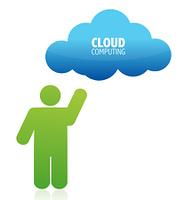 cloud computing illustration design