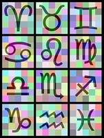 12 Sternzeichen-Set A