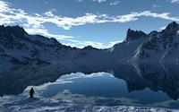 Antarktischer Tag