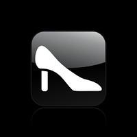 Vector illustration of single elegant shoes