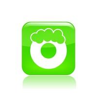 Vector illustration of donut icon